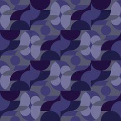 Hibiscus pattern, detail - David Matthew Parker