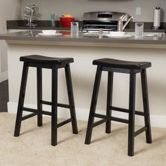 Pomeroy Saddle Wood Barstool (Set Of 2) By Christopher Knight Home | New  House Kitchen | Pinterest | Saddles, Woods And Furniture Outlet