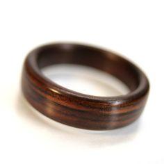 indian rose wood ring
