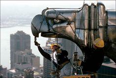 Chrysler Building Eagle Head
