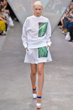 Fyodor Golan Spring/Summer 2015 Ready-To-Wear London Fashion Week