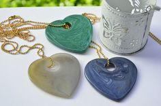 Collane catena tipo Tiffany color oro e di EtVoilaBijoux su Etsy