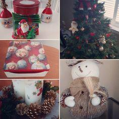La Navidad llegó por fin a casa.