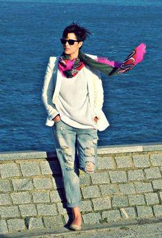 Sun!!1 #outfit , Zara Trafaluc in Jeans