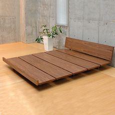 Plank style in a ZEN low/platform bed! Plank style in a ZEN low/platform bed! Bed Frame Design, Bedroom Bed Design, Bedroom Decor, Bedding Decor, Decor Pillows, Floor Bed Frame, Diy Bed Frame, Low Wooden Bed Frame, Low Floor Bed