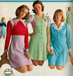 Sears Catalogue Dresses 1974