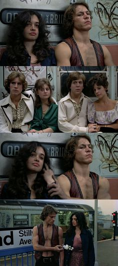 The Warriors, 1979 (dir. Walter Hill) In a really great chase movie, this quieter scene is actually my favorite.