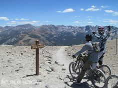 Mountain Bike Mammoth Mountain