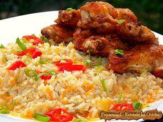 Garnitura de orez. Cu praz si morcov | Papamond