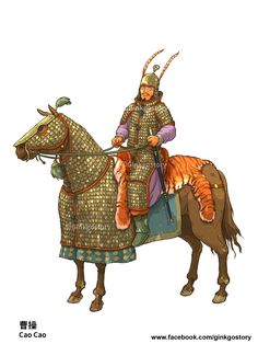 Cao Cao ( 曹操 ) Great chancellor of the Eastern Han dynasty, also the founder of the Wei kingdom. He began his political and military career when suppressing the yellow turban rebellion. His superior military strategy and political charisma have gradually made him the strongest warlord. After being appointed the great chancellor of Eastern Han Dynasty, his ambition was to reuniting the whole China again. He eventually became King of Wei after a pro-long power struggle with Han Emperor Xian…