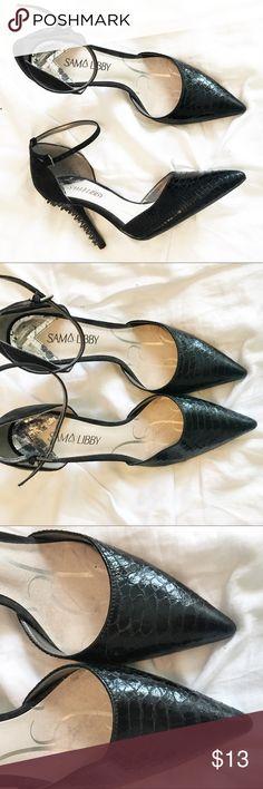 Sam & Libby Spiked Heels size 8 💕 Sam & Libby Spiked Heels size 8 💕 only worn once Sam & Libby Shoes Heels