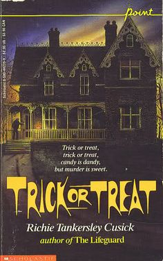 Trick Or Treat ~ Richie Tankersley Cusick.  One of my favorites back when I was a teen, and still really quite enjoy it.