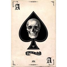 Ace of Spades Skull Art Poster Print - 24x36 Hobby Poster Print, 24x36 by Poster Revolution, http://www.amazon.com/dp/B001D4AJUS/ref=cm_sw_r_pi_dp_H3birb16JVM1E