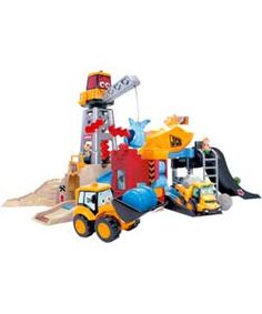 My 1st JCB On Site Ultimate Playset.