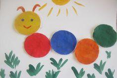 Чем занять ребёнка? Поделки из ватных дисков | Дом и семья | ШколаЖизни.ру