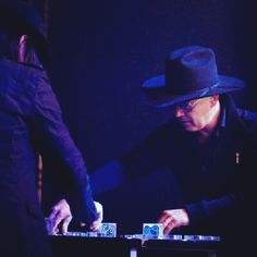 Nortec Collective feat. Bostich + Fussible with their Reactable - Instagram photo by @sel_ot (SeLene Ortiz Tolentino) | Statigram
