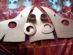 Maska morového doktora - výroba / Plague doctor mask - making of ...