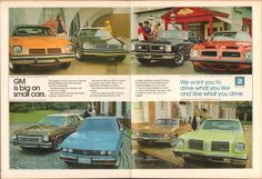 1974 General Motors Advertisement Motor Trend April 1974 | by SenseiAlan