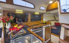 C&C Yachts Redline 41 Galley  See more of her here: