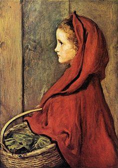 Red Riding hood - Sir John Everett Millais by truity1967, via Flickr