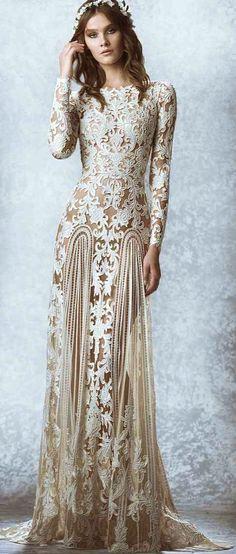 A truly beautiful, interpretation of the Bohemian look. Zuhair Murad www.MadamPaloozaEmporium.com www.facebook.com/MadamPalooza