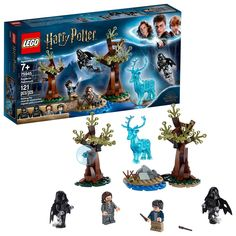 LEGO Harry Potter and The Prisoner of Azkaban Expecto Patronum 75945 Building Kit, New 2019 Pieces). The LEGO Harry Potter Expecto Patronum 75945 set can be built together with all other original LEGO sets and LEGO bricks for creative building. Harry Potter Film, Lego Harry Potter Sets, Harry Potter Wizard, Theme Harry Potter, Harry Potter Gifts, Harry Potter Hogwarts, Harry Potter Expecto Patronum, Sirius Black, Legos