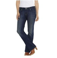 Levi's 515 Bootcut Jeans mid rise 5 pockets dark wash women's size 12 NEW   29.99 http://www.ebay.com/itm/Levis-515-Bootcut-Jeans-mid-rise-5-pockets-dark-wash-womens-size-12-NEW-/231536293390?ssPageName=STRK:MESE:IT