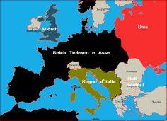 Risultati immagini per unione europea franco-tedesca mappa