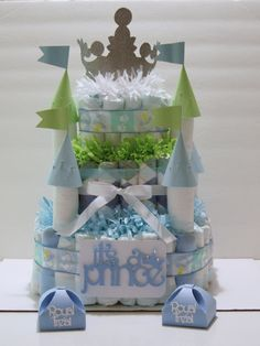 A uNiQue Castle Pamper Design made for a prince theme babyshower. Baby Shower Themes, Baby Shower Decorations, Baby Shower Gifts, Shower Ideas, Gag Gifts, Holidays And Events, First Birthdays, Projects To Try, Diy Crafts