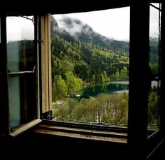 een venster op de wereld ...