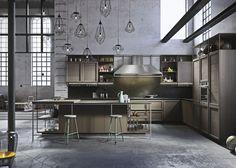 Cucine classiche con isola: design Iosa Ghini con Frame | Snaidero