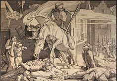 Plague and Death: Alfred Rethel