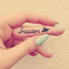 Cool freedom tattoo                                                                                                                                                                                 Más