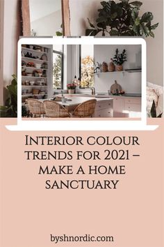 Colour can be powerful – impacting all kinds of moods and feelings. From earth tones to warm colours and new neutrals, read my guide to the interior colour trends for 2021. Bring warmth and nature into your home! #colourblocking #colourguide #homedecor #interios Warm Colours, Earth Photos, Colour Trends, Color Of The Year, Natural Texture, Elle Decor, Earth Tones, White Walls, Modern Rustic
