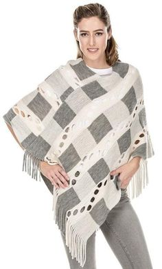 2c7d81edff32 207 Best Gorgeous Gray images in 2019   Knitted poncho, Fashion ...