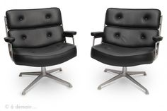 Fauteuil Lobby Chair Time-Life de Charles Eames pour Herman Miller, 1960