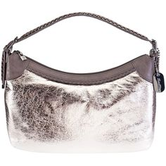 Babe Gun Silver Medium Shoulder Bag