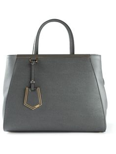 FENDI Medium '2Jours' Tote. #fendi #bags #shoulder bags #hand bags #leather #tote