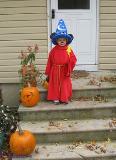 Sorcerer Mickey Costume - Halloween Costume Contest via @costumeworks