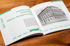 Broschüre zur Einweihung des Bürgerzentrums in Hoyerswerda