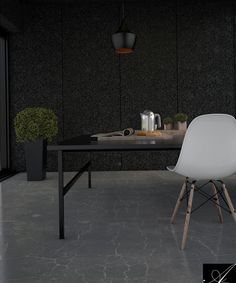 dark house Dark House, Office Desk, Corner Desk, Interior Design, Furniture, Home Decor, Corner Table, Nest Design, Desk Office