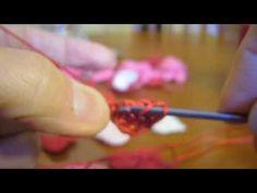 How to crochet a heart....so cute.