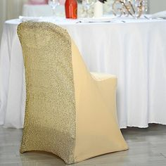 Folding Chair Covers, Chair Sashes, Event Planning Design, Event Decor, Floor Chair, Color Splash, Wedding Reception, Home Decor, Style