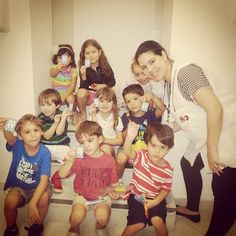 Brush your teeth na Unidade Niteroi /RJ #teeth #kids #niteroi #english #redballoon