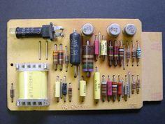 VINTAGE IBM TRANSISTOR LOGIC SMS PRINTED CIRCUIT BOARD 374772
