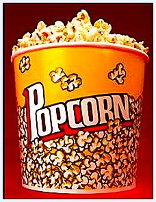 "Photo: bucket of popcorn. Source: Phys.org. Read more on the GenealogyBank blog: ""My Favorite Genealogy TV Programs & Family History Videos."" http://blog.genealogybank.com/my-favorite-genealogy-tv-programs-family-history-videos.html"