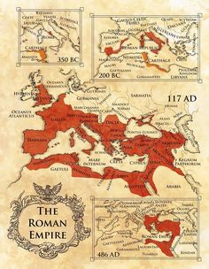 Rome History, History Facts, Ancient History, Roman Empire Map, Fantasy World Map, Classroom Images, Alternate History, Old Maps, Historical Art