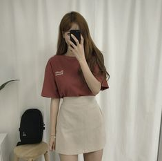 Korean Fashion Summer Casual, Korean Girl Fashion, Korean Street Fashion, Ulzzang Fashion, Korea Fashion, Harajuku Fashion, Kawaii Fashion, Asian Fashion, Korean Summer