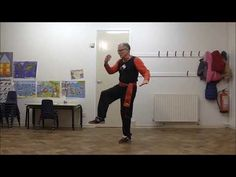 Lesson 25: The Crane Raises Its Head: Li (Lee) Family Style T'ai Chi Ch'uan - YouTube