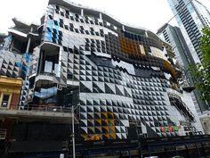 Docklands building, Melbourne, Australia
